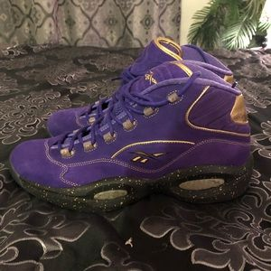 "Reebok x Karmaloop Question mid ""Royalty"" Sz 13"